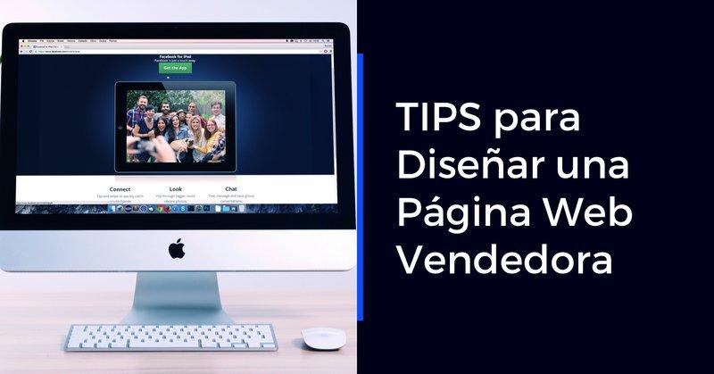 Tips para diseñar una página web vendedora